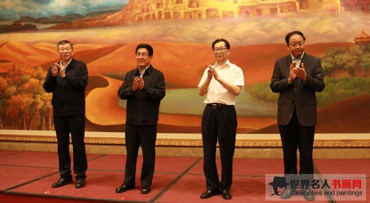 吴东魁先生甘肃捐赠助学仪式现场