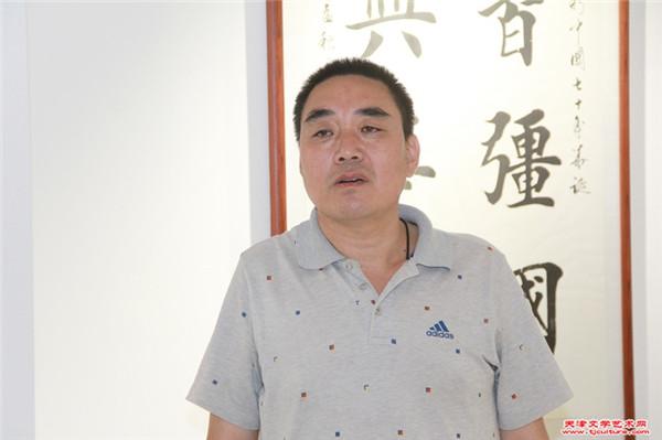 黄骅书画院副院长刘子瑞致辞.jpg